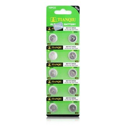 MyXL YCDC Fabriek Prijs drop++ 10 stks Cell Coin batterij LR1130 AG10 V10GA 189 389 390 LR54 Batterijen 51% off