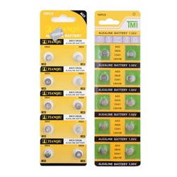 MyXL Goedkope ++ + Koop + 10 Stuks AG3 LR41 392 SR41 192 LR736 Knop Knoopcel Alkaline Batterij 1.55 V