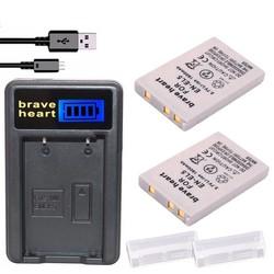 MyXL 2x Bateria EN-EL5 EN EL5 ENEL5 Batterij + LCD USB Oplader Voor nikon coolpix 3700 4200 p5000 5200 5900 7900 s10 p3 p4 camera