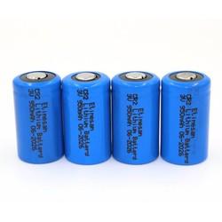 MyXL 4 stks/partijEtinesan Lithium CR2 Batterijen 3 V (DLCR2, CR17355, ELCR2) Exp 2026 + +