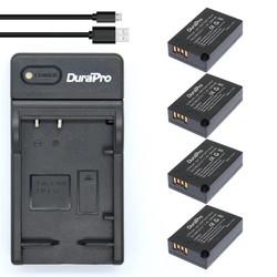 MyXL 4 st 1040 mAh LP-E17 LPE17 LP E17 Oplaadbare Batterij + Usb-oplader voor Canon EOS Rebel T6i 750D T6s 760D M3 800D 8000D Kus X8i