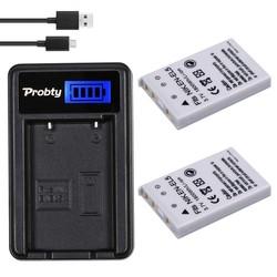 MyXL PROBTY 2 stks 1800 mAh EN-EL5 EN EL5 ENEL5 Batterij + LCD USB Charger voor NIKON Coolpix 3700 4200 P5000 5200 5900 7900 S10 P3 P4