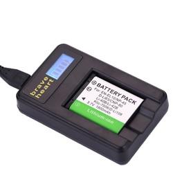 MyXL 2xenel10 li-40b li 40b 42b batterij + usb lader voor olympus li-42b np-45, voor nikon en-el10 d-li63 d-li108 np-80 cnp80 klic-7006