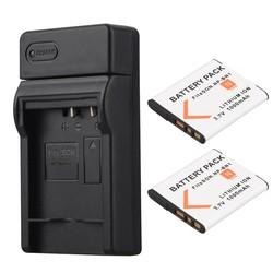 MyXL 2 stks 1000 mAh NP-BN1 NP BN1 NPBN1 Digitale Camera Batterij Batterij + Usb-oplader voor Sony TX9 WX100 TX5 WX5C W620 W630 W670 TX100