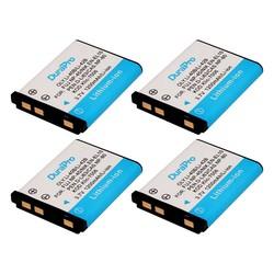 MyXL 4 x DuraPro 1200 mAh 3.7 V LI-42B 42B Li-40B 40B NP-45 NP45 EN-EL10 DLI63 D-Li108 DLI108 NP-80 NP80 CNP80 KLIC-7006 K7006 batterij