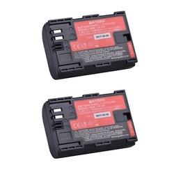 MyXL 2 stks LP-E6 LP E6 LP-E6N batterij AKKU gemaakt met Japan Cellen voor Canon EOS 5D Mark II III 5DS 5DSR 6D 7D 60D 60Da 70D 80D