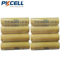 MyXL 8 Stks/PKCELL Ni-CD 1.2 V AA Batterij 1000 mAh Oplaadbare Batterijen 1.2 Volt 2A Batterijen