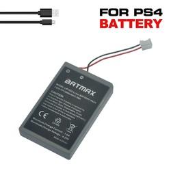 MyXL 2 stks ps4 gamepad lip1522 1000 mah oplaadbare extended vervanging batterijen + 1 usb-kabel voor sony playstation ps4 controller