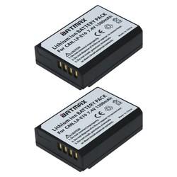 MyXL 2 Stks LP-E10 LP E10 LPE10 Camera Batterijen voor Canon EOS 1100D 1200D 1300D Kus X50 X70 X80 Rebel T3 T5 T6
