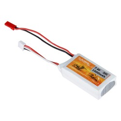MyXL FLOUREON 2 S 7.4 V 1000 mAh 20C Lipo Batterij met JST Plug voor RC Auto Truck Truggy RC Hobby
