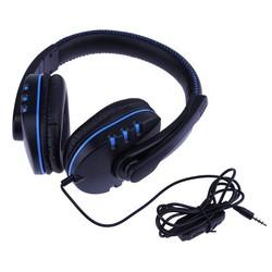 MyXL ALLOYSEED Gaming Hoofdtelefoon Voor PS4 3.5mm Wired Moving Coil Gaming Hoofdtelefoon met Draaibare Microfoon voor Sony PS4