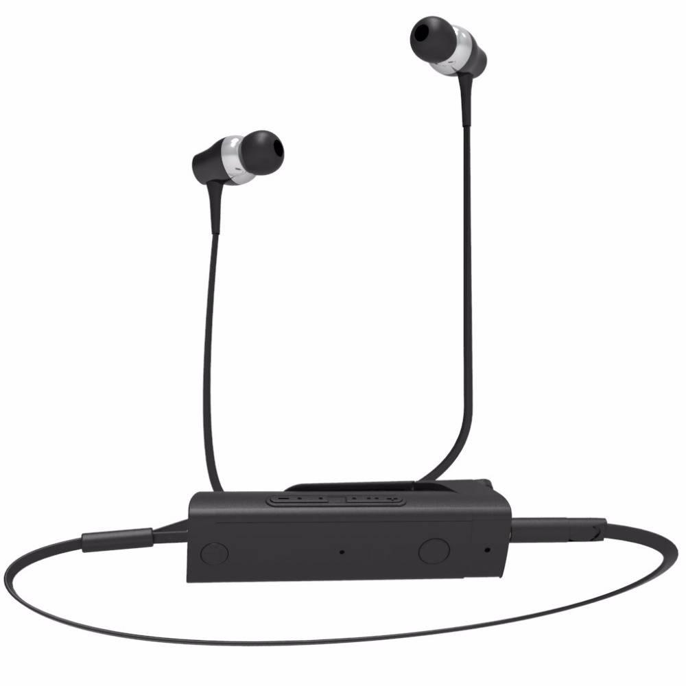 GDLYL Draagbare Koptelefoon Mini Clip Op Stereo Headset Draadloze Bluetooth Oortelefoon Met Microfoo