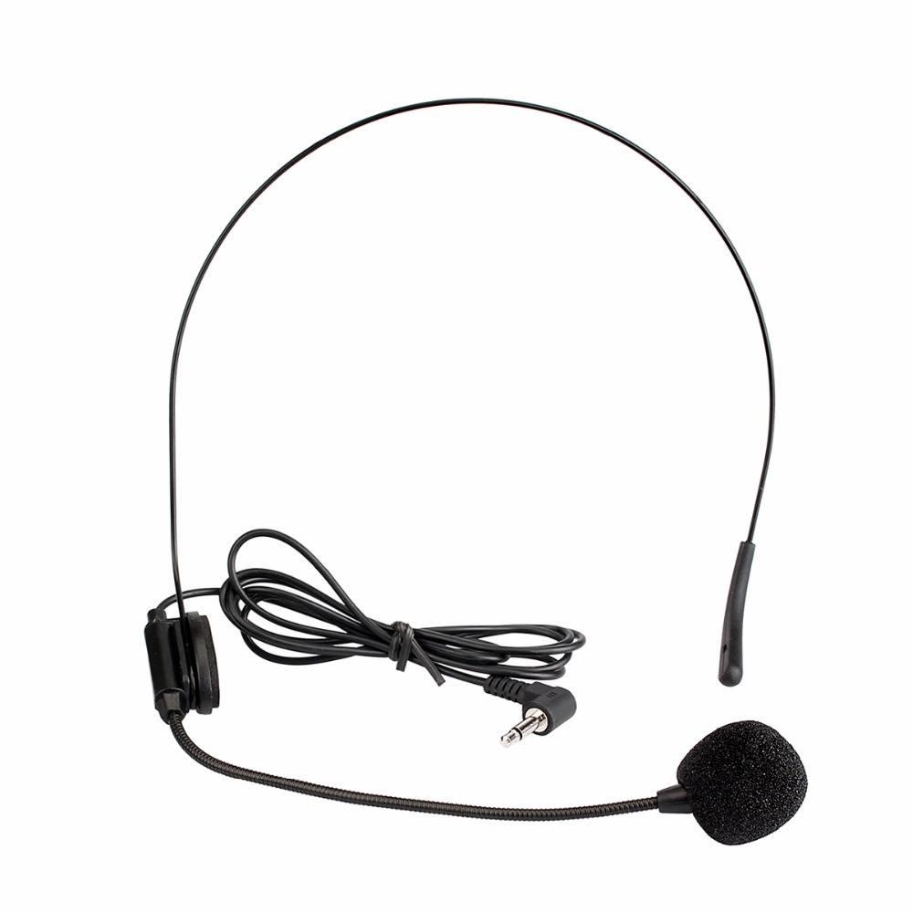 Mini Headset Microfoon Condensator MICROFOON voor Voice Versterker Luidspreker Professionele gids Sy