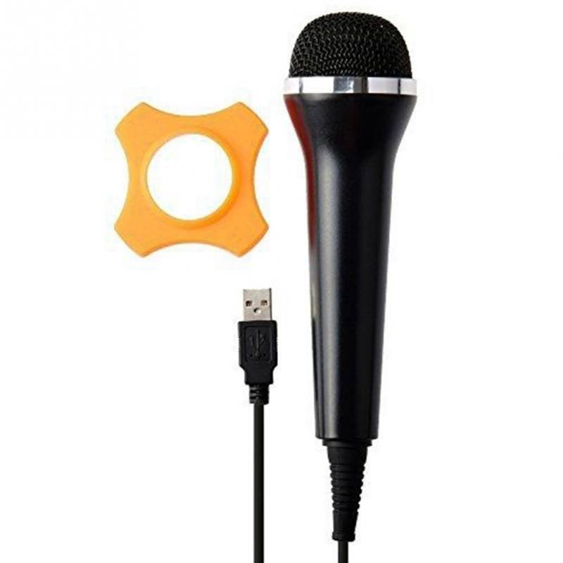 Collectie handbediende Bedrade Microfoon PC USB Gitaar Hero Voor Xbox360-EEN Wii Voor PlayStation3 V