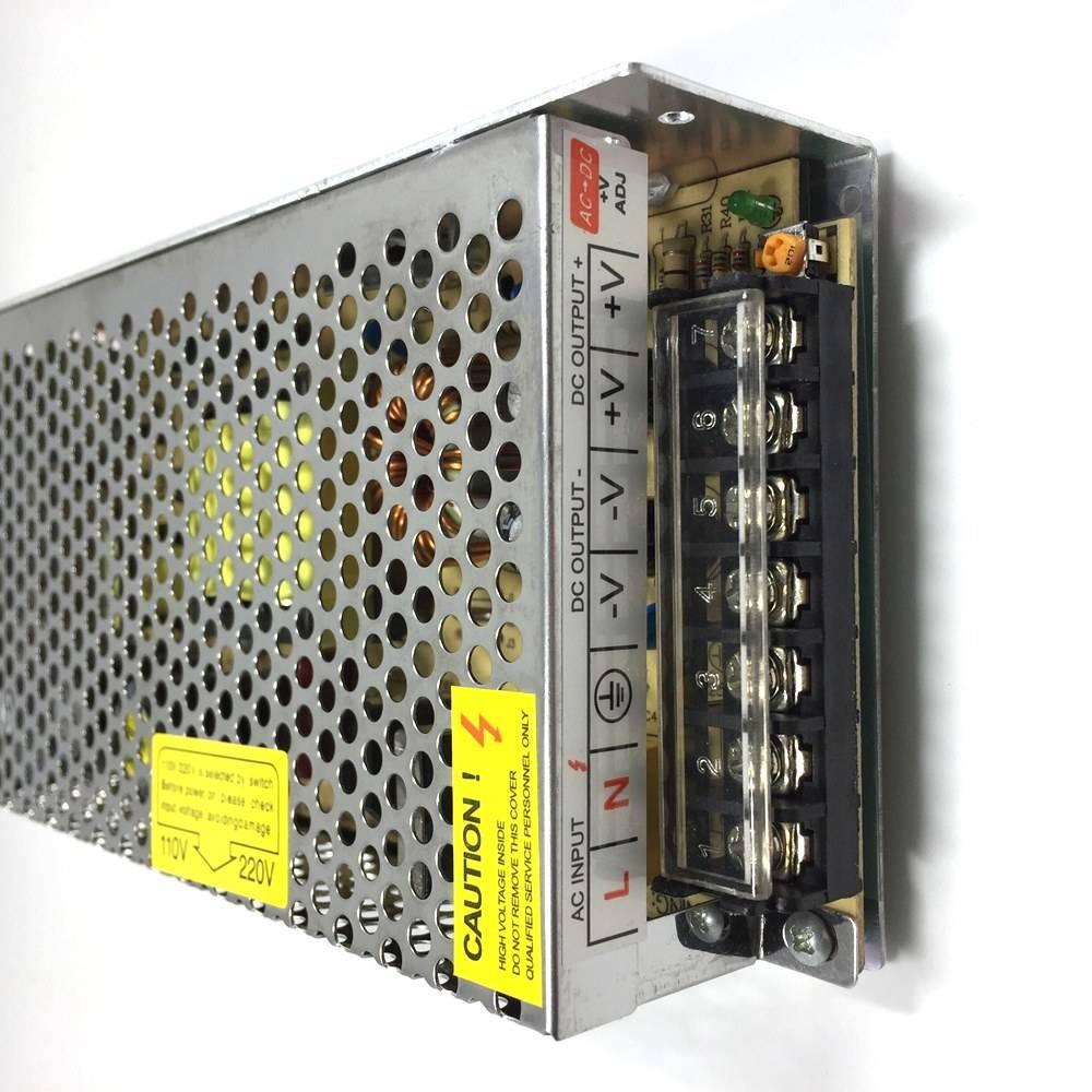 AC 110 V-240 V DC 12 V 10A Driver Converter 12 V LED transformator Voeding Stroomvoorziening Adapter