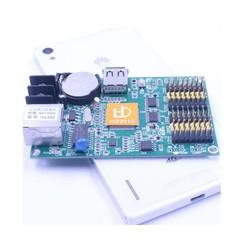 MyXL Enkele dual kleur led module p10 display controlekaart HD-E62 huidu led systeem