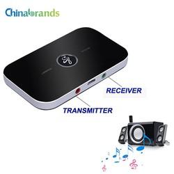 MyXL Bluetooth RT-B6 Draadloze Adapter HIFI Audio Bluetooth Ontvanger en zender Met 3.5 MM Audio En Uitgang Voor TV MP3 PC