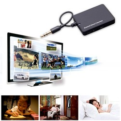 MyXL DL-LINK 3.5mm Mini Bluetooth Audio Zender A2DP Stereo Zender Transmite Dongle Adapter voor TV iPod Mp3 Mp4 PC