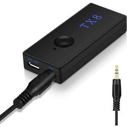 MyXL Bluetooth Zender Draadloze Bluetooth Stereo Audio Zender Adapter RCA 3.5mm voor TV Hoofdtelefoon Auto Speaker