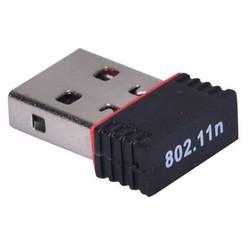 MyXL USB 2.0 150 Mbps 11n 2.4 GHz Wifi Internet Dongle Nano Draadloze N Adapter Ondersteunt Windows, Mac OS, Linux-Ralink 7601 Chipset in