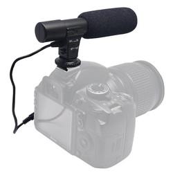 MyXL Mic-01 professionele studio stereo video microfoon voor nikon d5200 d5300 d5500 d3300 d750 d800 d500 dslr camera dv camcorder