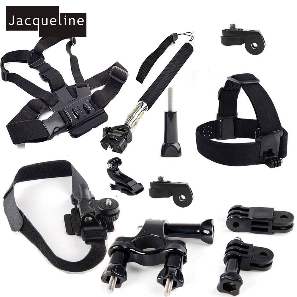 Jacqueline voor Outdoor Accessoires Fiets Mount Kit voor Sony Action Cam HDR-AS50 AS200V AS30V AS300