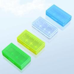 MyXL 5 stks Plastic Lithiumbatterij Doos Beschermende Opbergdozen Gevallen Houder Voor 18650 18350 CR123A 18500 Batterij