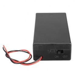 MyXL 3.7 V 2x18650 Batterij Houder Connector Opbergdoos Doos OP OFF Schakelaar Met Lood