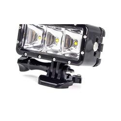 MyXL Onderwater Licht Duiken Waterdichte LED Video Spot Lamp Licht Voor GoPro Sessie Go Pro Hero 6 5 4 SJCAM Xiaomi Yi 4 k Sport Camera