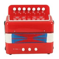 MyXL Kids Accordeon Verlichting instrumenten Rood