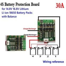 MyXL 4 S 30A 14.8 V Li Lithium 18650 Batterij BMS Packs Bescherming Printplaat met Balans