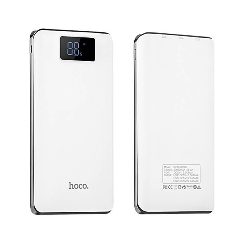 3 USB Mobiele Power Bank 20000 mAh powerbank draagbare oplader externe Batterij 20000 mAH mobiele te