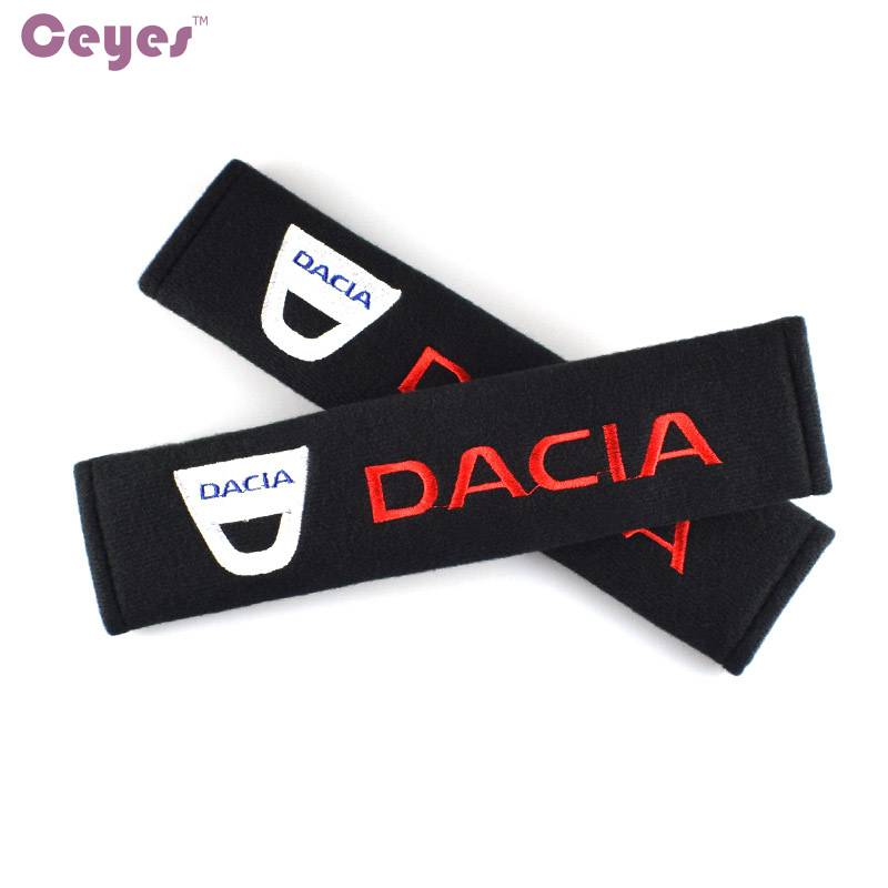 Seat Belt Cover Auto Styling Case Voor Dacia Duster Logan Sandero Lodgy Stepway Mcv 2 Accessoires Ka