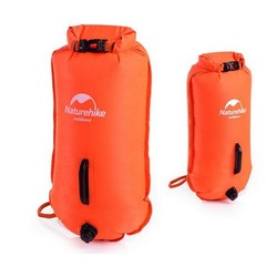 MyXL Naturehike Opblaasbare zwemmen beursgang tas reddingsboei zwembad floaties droog waterdichte tas voor zwemmen drifting roze oranje