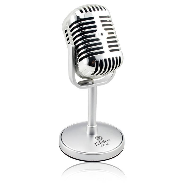 FREZEN Vintage Microfoon Studio Wired Classic Retro Condensator Microfoon Professionele Oude Stijl K