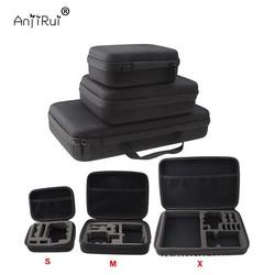 MyXL Go Pro Waterdichte Draagtas Travel Case voor GoPro Hero Sessies 4/4/3 +/3/2/1/XiaomiYi Action Camera Case Accessoires Tas