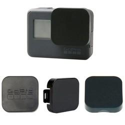 MyXL Go Pro Accessoires Gopro Hero 5 Zwart Plastic Lens Cap Cover met Gopro Logo 3 Modellen Lens Protector voor Gopro 5