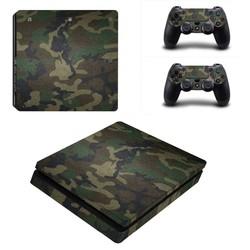 MyXL PS4 Skins 1 stuk in kleur Camouflage en 2 Controller Skins
