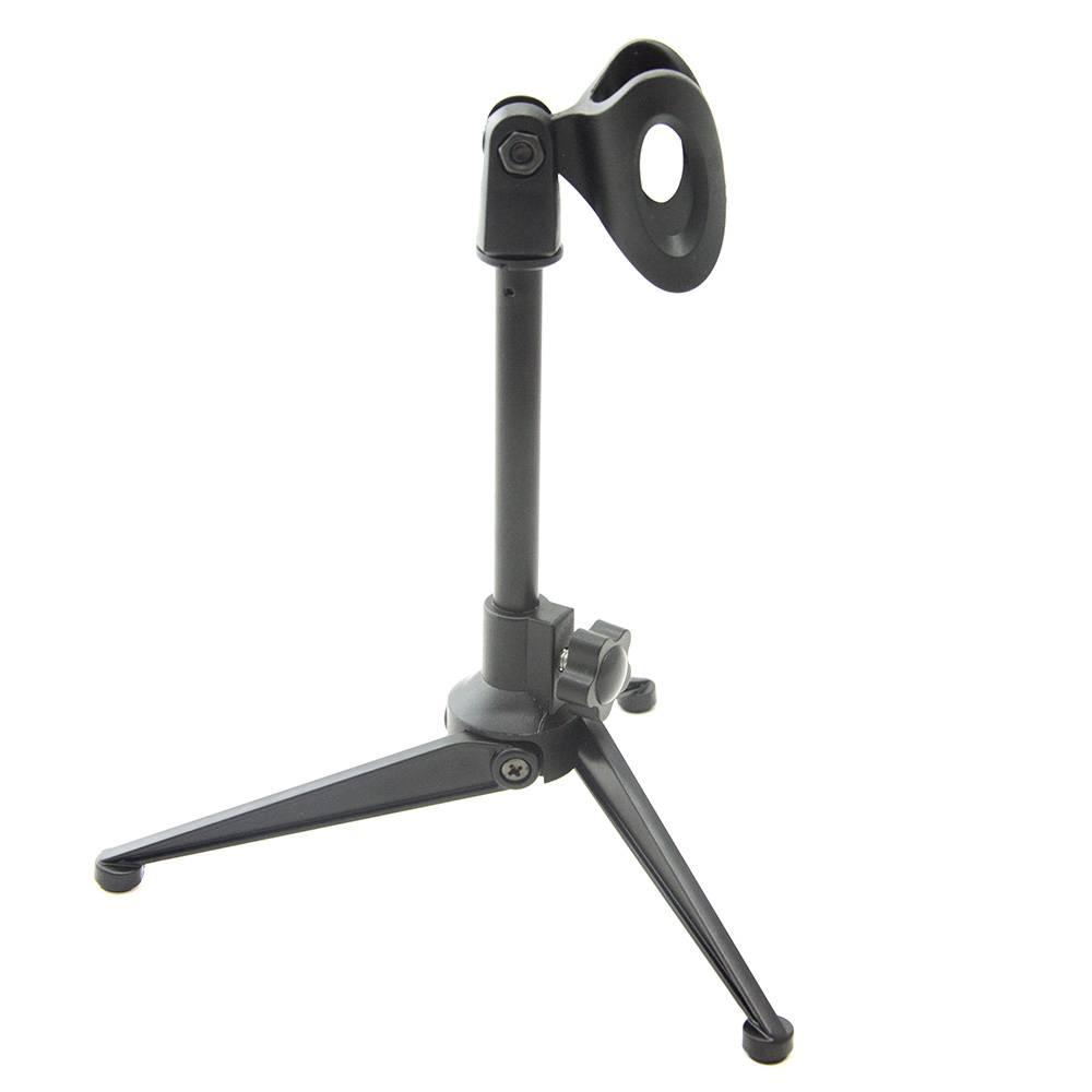 Verstelbare Desktop Statief Metalen Microfoon Stand Desktop Statief Vouwen Microfoon Stand Plastic V