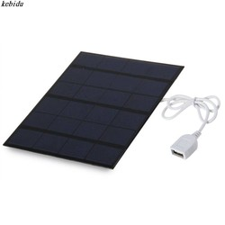 MyXL 6 V 3.5 W Solar Power Panel Charger USB Draagbare Zonnelader apparaat Zonnepaneel om Telefoon Zon Panel Solar Board Stroombron