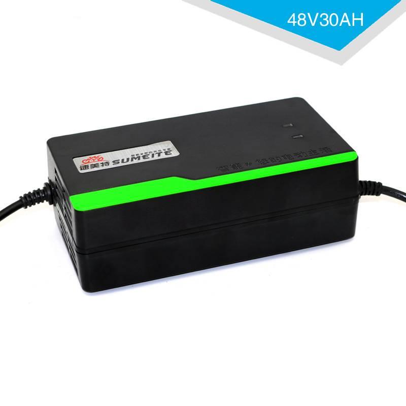 MXPOKWV 48 V 30AH Automatische Smart Voeding Adapter Elektrische Fiets Motorfiets Loodaccu Lader 48