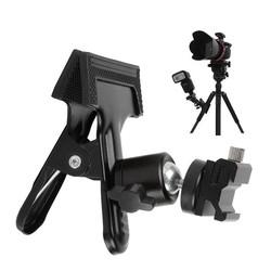 MyXL Fotostudio Fotografieachtergrond Klem Statief Bal Hoofd +schoen Adapter Flash Light Stand voor 580EX II 600EX SB800 SB910