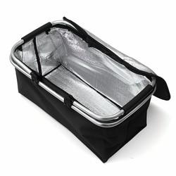 MyXL 46 cm x 28 cm x 24 cm Vouwen Picknick Camping Geïsoleerde Koeler Cool Wasmand Opslag Mand Tas Doos outdoor picknickzakken
