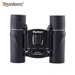 MyXL Teyeleec 8x21 Mini Dual Focus Compact Binoculars Telescope Pocket-size for Bird Watching Wildlife Scenery
