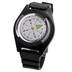 MyXL Tactische Pols Kompas Speciale Voor Militaire Outdoor Survival Horloge Zwart Band
