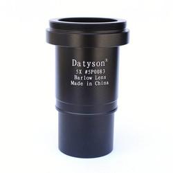 MyXL Datyson volledig metalen 5x astronomische telescoop oculair barlow lens 1.25 inches 31.7mm 5p0083