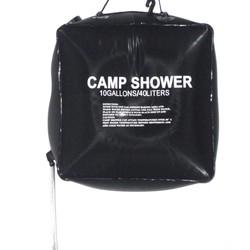 MyXL 1 STKS 40L 10 Gallon Camping Zonne-energie Verwarmd Kamp Douche Bag Douche Waterzak Vissen Camping Picknick BBQ Wandelen Water opslag