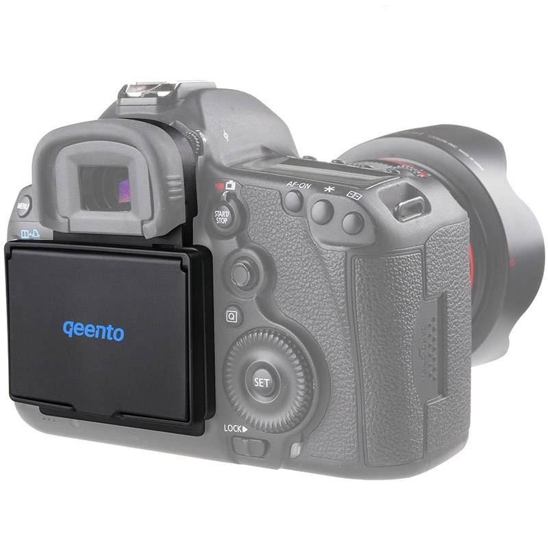 Qeento LCD Screen Protector Pop-up zonnescherm lcd Hood Shield Cover voor mirrorless digitale camera