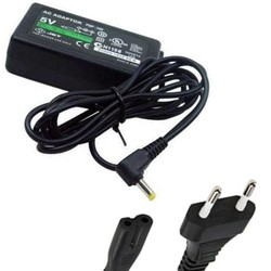 MyXL EU Plug Thuis Lader AC Adapter Netsnoer voor PSP 1000 2000 3000