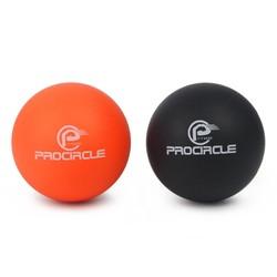 MyXL PROCIRCLE Massage Lacrosse Ballen voor Zelf-myofasciale Release Therapie Spier Knopen en Yoga Therapie Set van 2 Firm Ballen